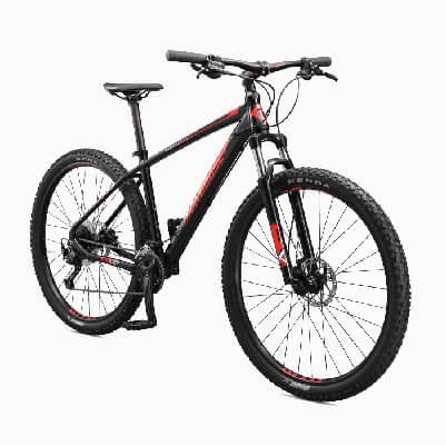 Mongoose Tyax Comp, Sport, and Expert Adult Mountain Bike